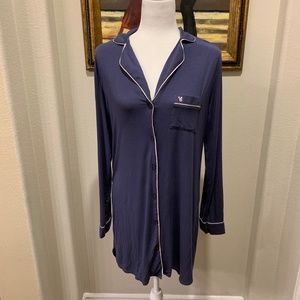 Victoria Secret Soft Blue Sleep Shirt PJ